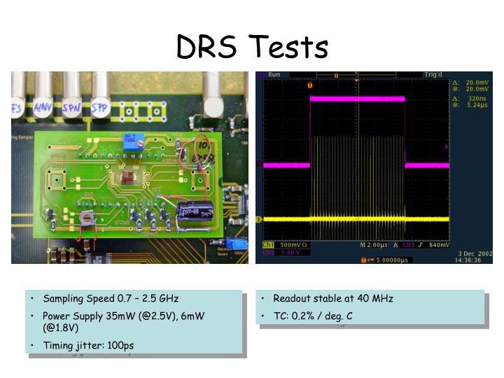 DRS Tests