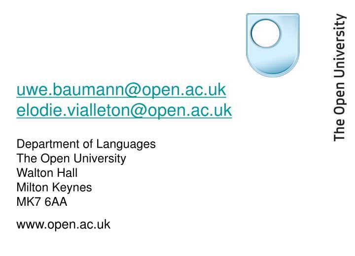 uwe.baumann@open.ac.uk