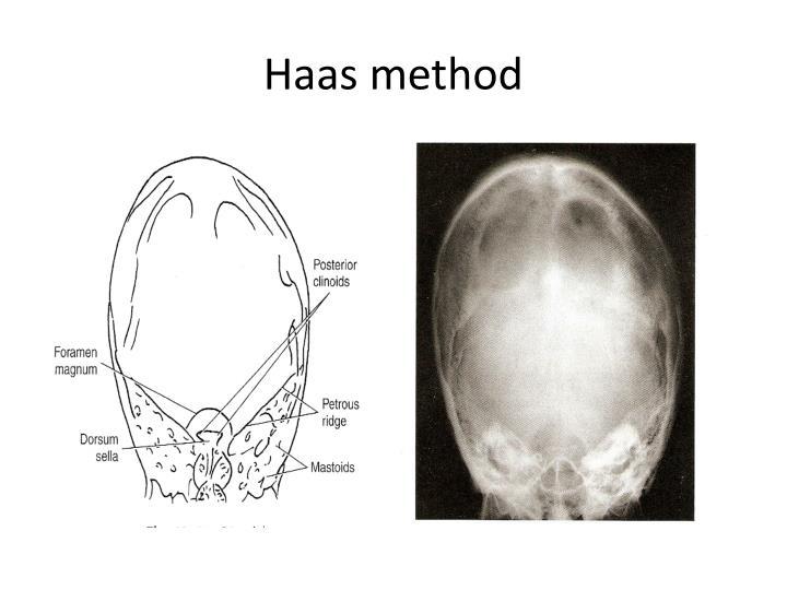 Haas method