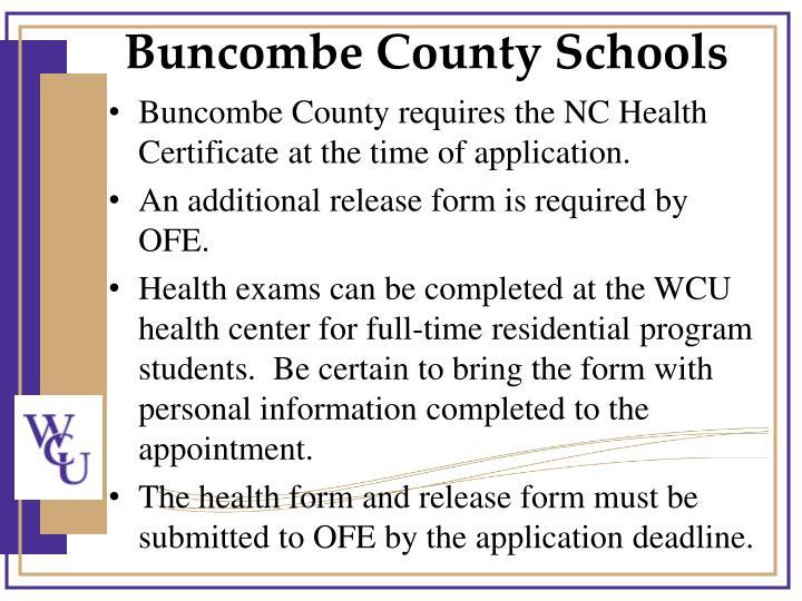 Buncombe County Schools