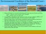 environmental condition of the emerald coast air quality1