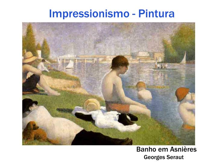 Impressionismo - Pintura