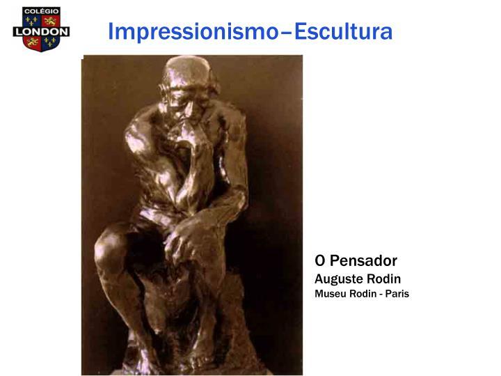 Impressionismo–Escultura
