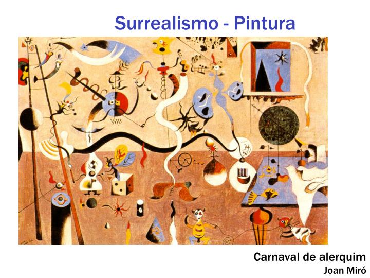 Surrealismo - Pintura