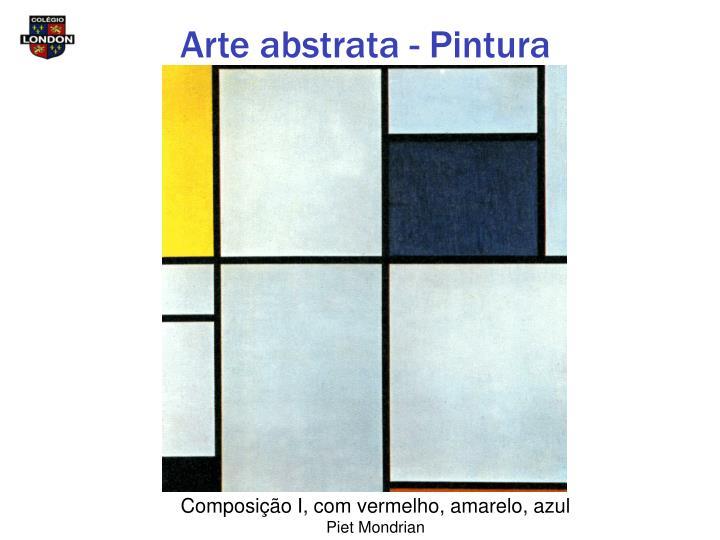 Arte abstrata - Pintura