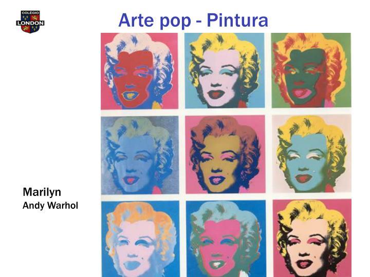 Arte pop - Pintura