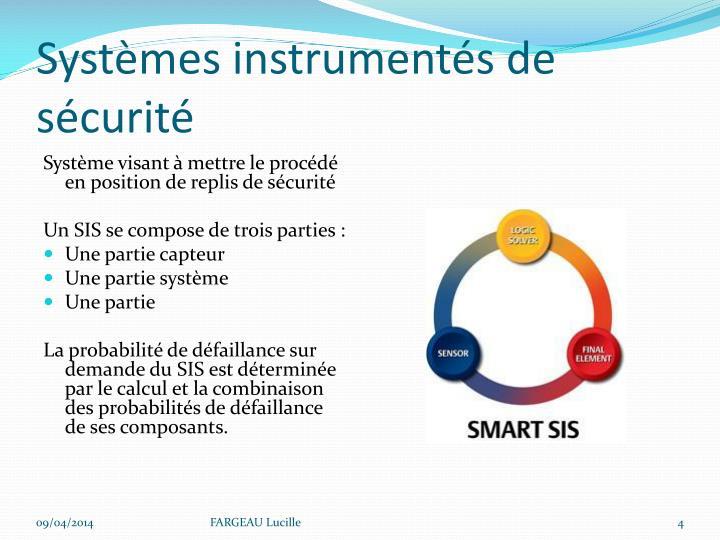 Systèmes instrumentés de sécurité