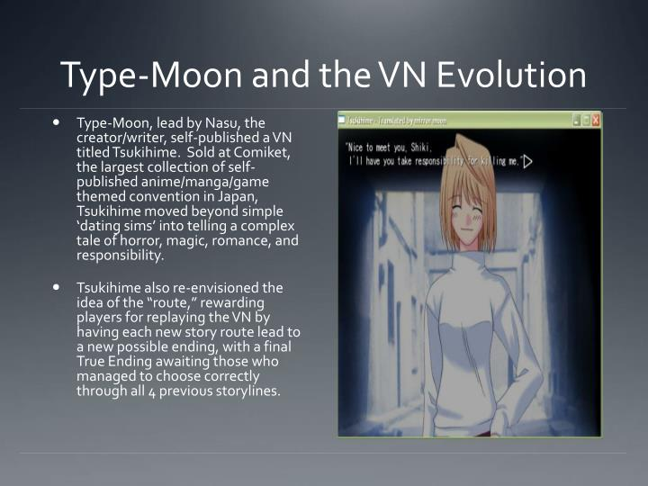 Type-Moon and the VN Evolution