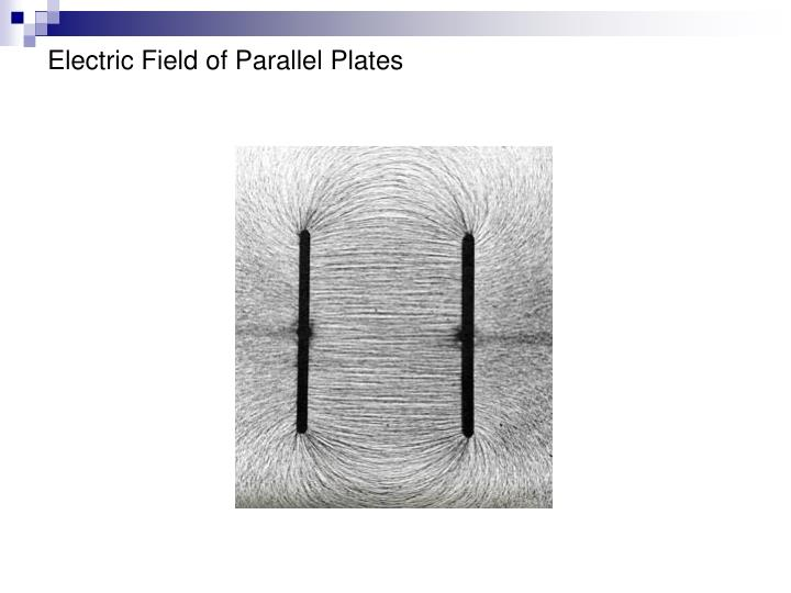 Electric Field of Parallel Plates