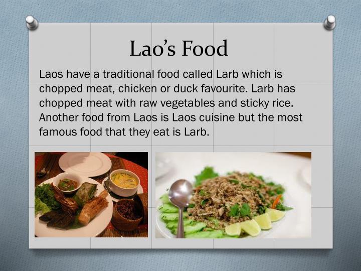 Lao's Food