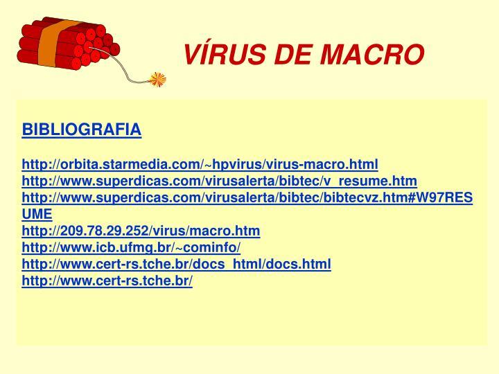 VÍRUS DE MACRO
