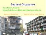 sequent occupance1