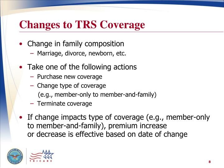 Changes to TRS Coverage