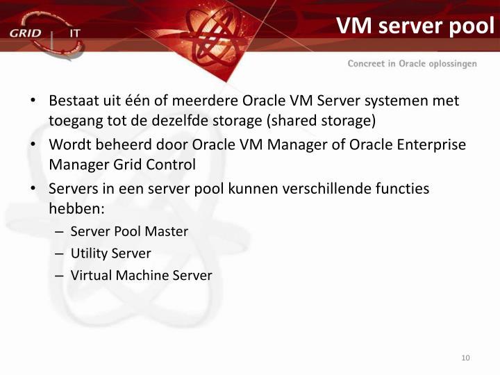 VM server pool