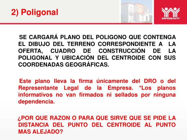 2) Poligonal