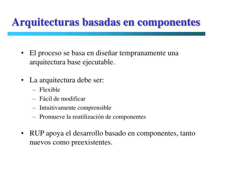 Arquitecturas basadas en componentes