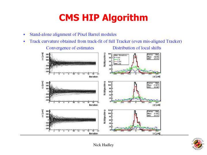 CMS HIP Algorithm