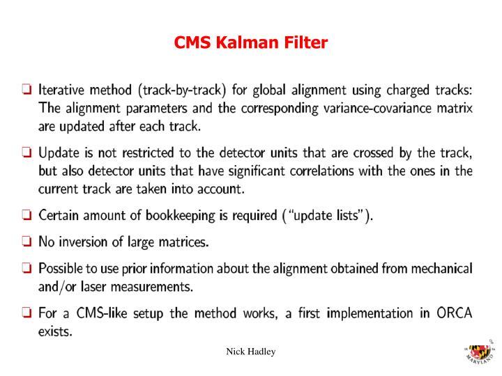 CMS Kalman Filter