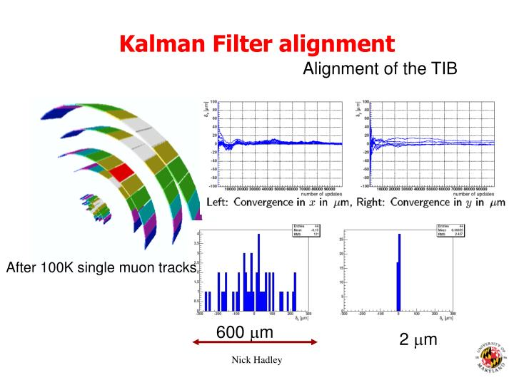 Kalman Filter alignment
