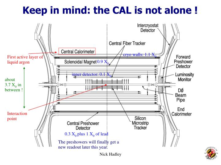 Keep in mind: the CAL is not alone !