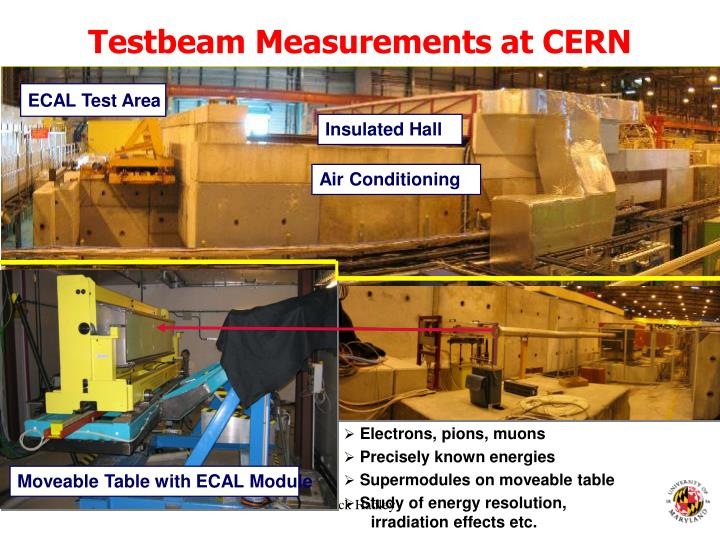 Testbeam Measurements at CERN SPS