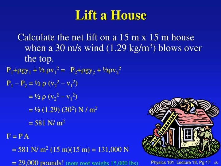 Lift a House