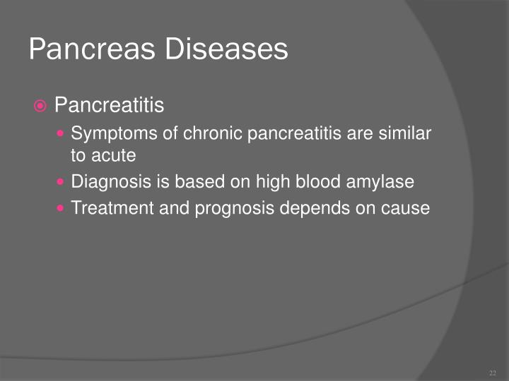 Pancreas Diseases