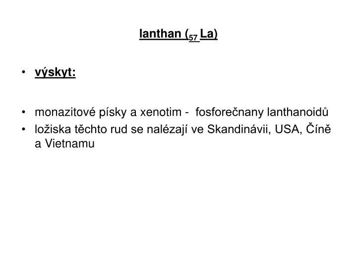 lanthan (