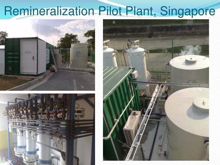 Remineralization Pilot Plant, Singapore