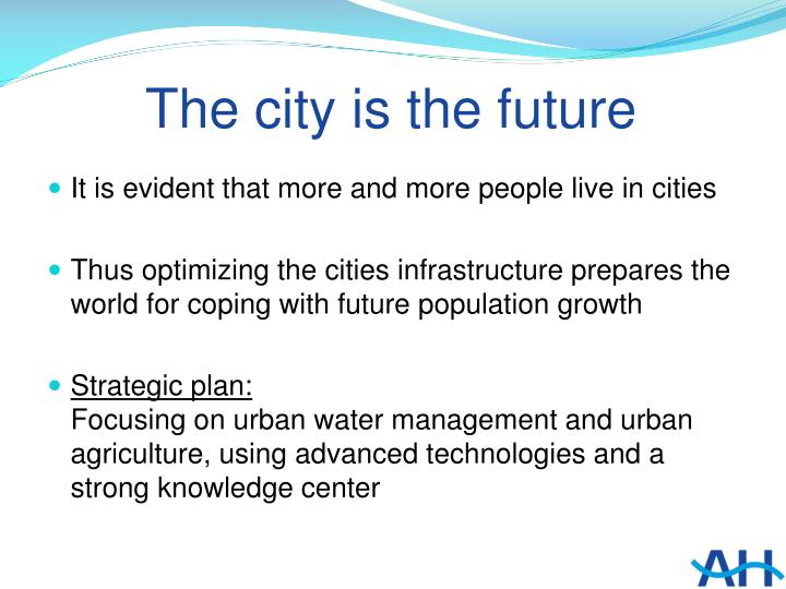 The city is the future