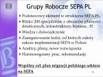 grupy robocze sepa pl