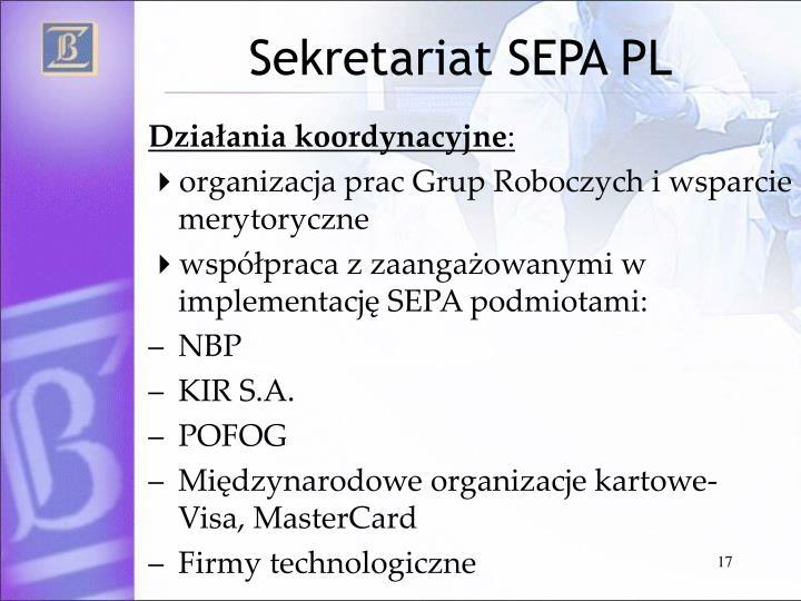 Sekretariat SEPA PL