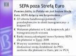 sepa poza stref euro