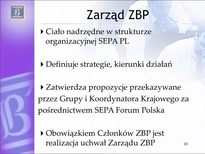 Zarząd ZBP