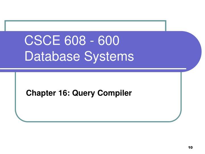 CSCE 608