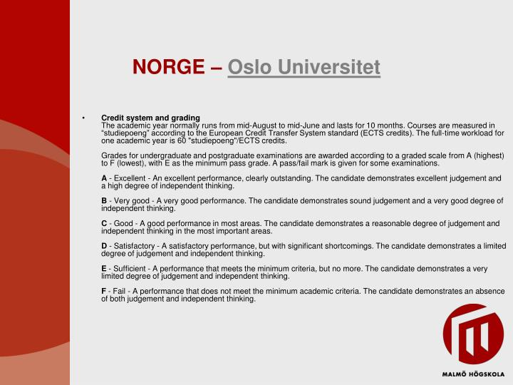 NORGE –