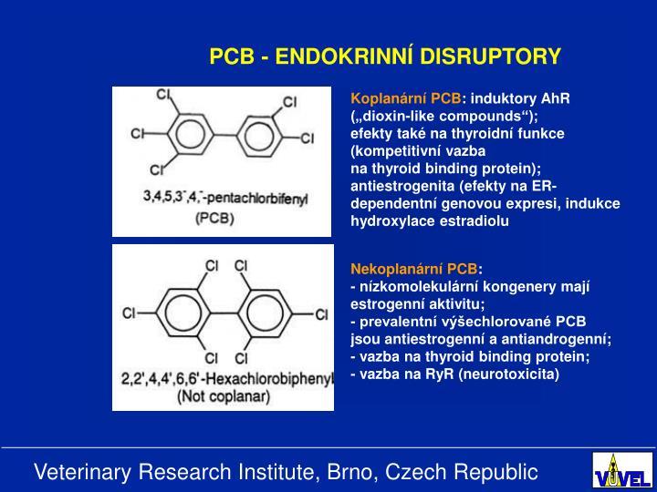 PCB - ENDOKRINNÍ DISRUPTORY
