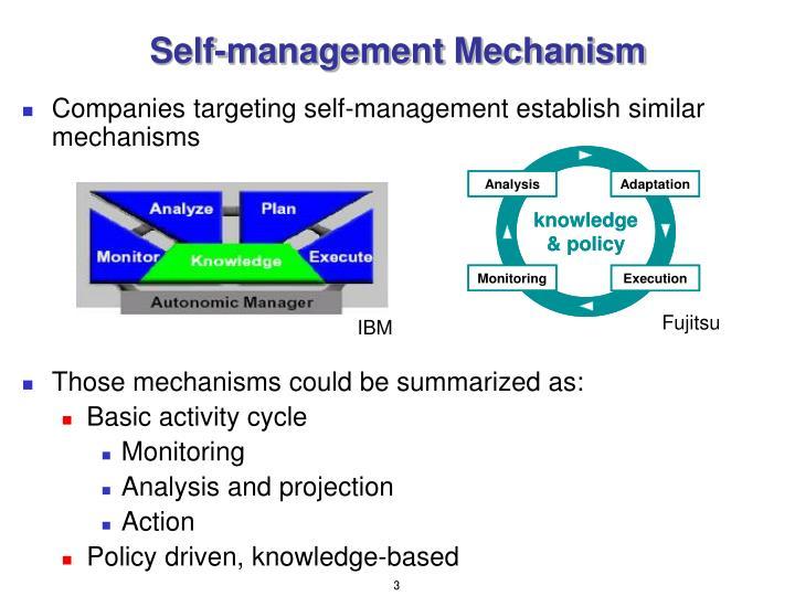 Self-management Mechanism