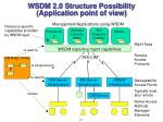 wsdm 2 0 structure possibility application point of view