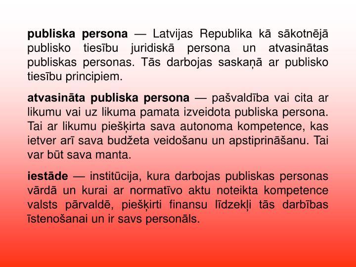 publiska persona