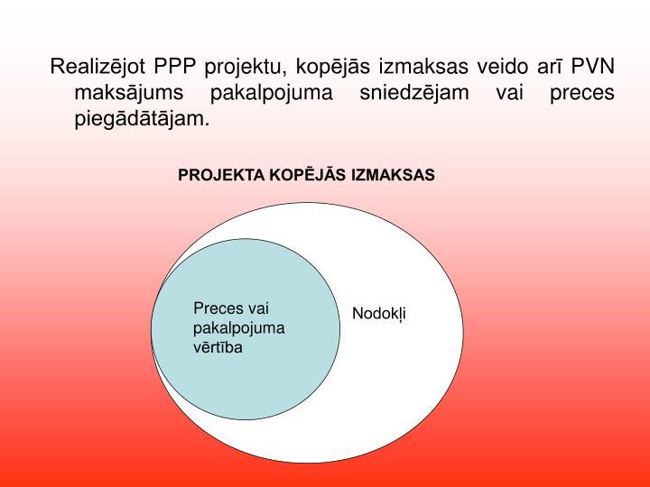 PROJEKTA KOPĒJĀS IZMAKSAS
