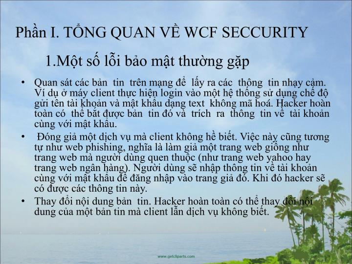 1.Mt s li bo mt thng gp