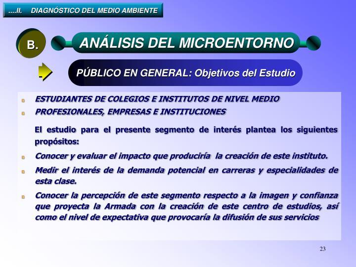 ....II.DIAGNÓSTICO DEL MEDIO AMBIENTE
