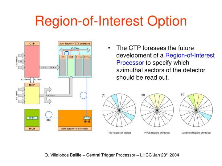 Region-of-Interest Option