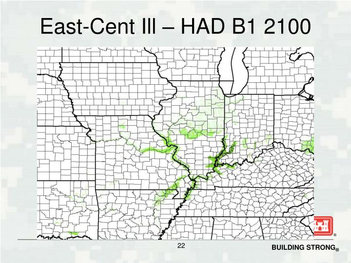East-Cent Ill – HAD B1 2100
