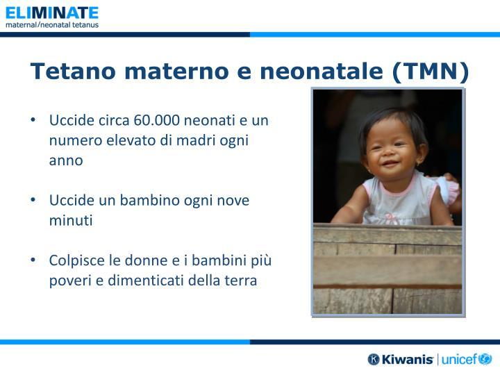 Tetano materno e neonatale (TMN)