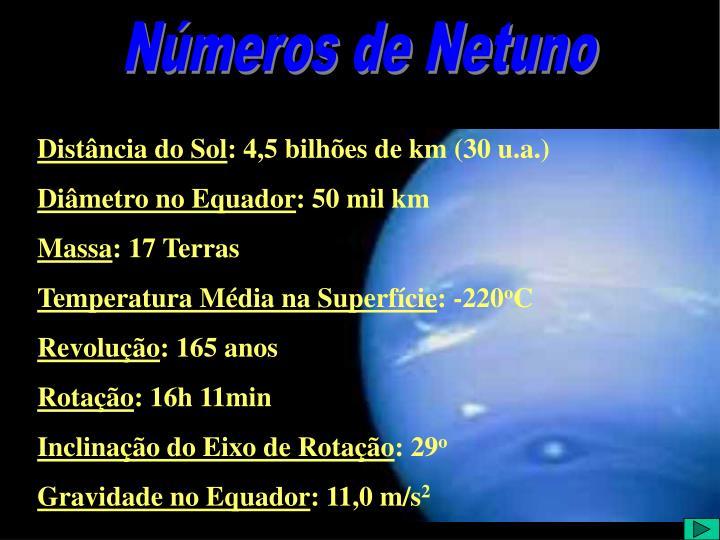Números de Netuno