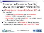 strawman a process for reaching geoss interoperability arrangements