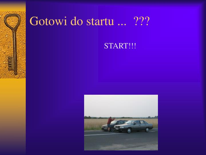 Gotowi do startu