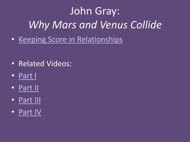 John Gray: